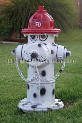 dog painting fire hydrants