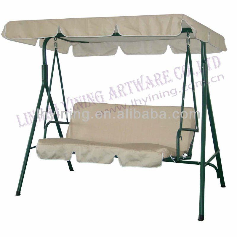 adult free stand indian 3seats canopy swing chairs