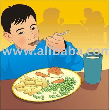 Alimentación Saludable Buy Dibujos Animados Vectorización Jpeg