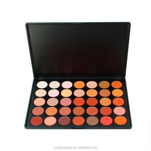 35OM matte eye shadow All Matte Pigmented 35 Color Eyeshadow Palette Private Label OEM Nature Warm Eye Shadow Makeup 35OM
