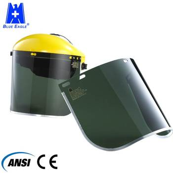 EN166 ANSI Z87.1 Protective multi-purpose face shield