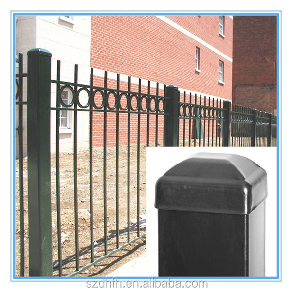 4x4 Galvanized Square Metal Fence Posts Round Fence Post