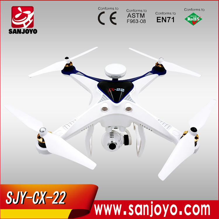 China Wholesale Quadcopter Follow Me Mode Hobby Drone , Lily Camera Drone With GPS