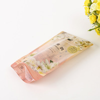 Top Design Clear plastic poly bags with Aluminum Foil