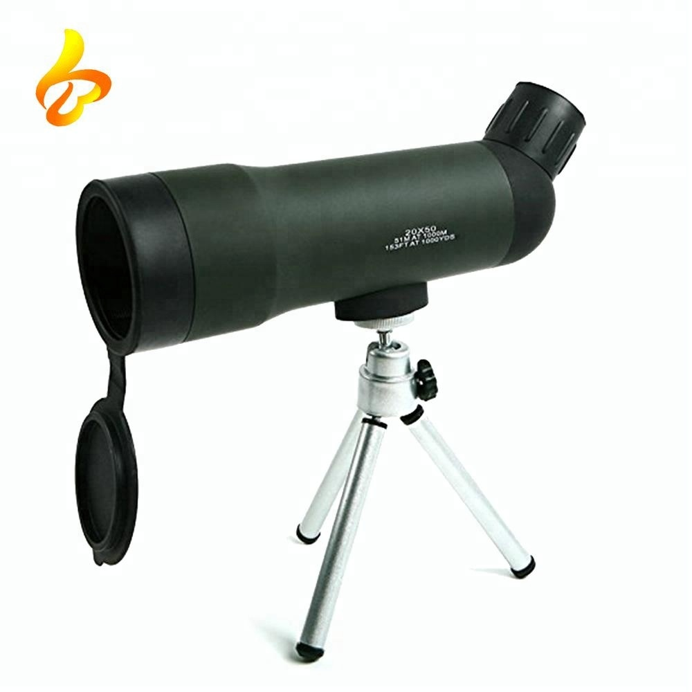 HD Top Quality Bird Watch 20x50 Zoom HD Monocular Outdoor Telescope With Portable Tripod Night Version