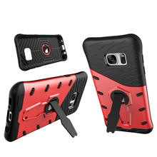 Original designed Rugged rubber armor case phone casefor samsung galaxy S7 Edge