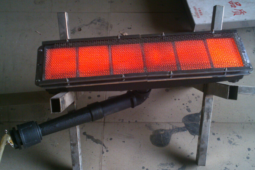 Powder Coating Industrial Oven Gas Infrared Radiant Heater