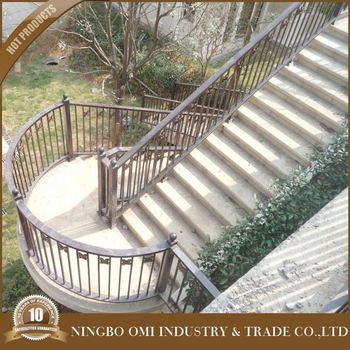The Philippines Outdoor Wrought Iron Stair Railing Is