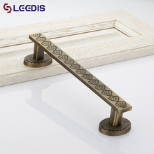 LEEDIS high quality zinc alloy cabinet drawer pull handle for furniture
