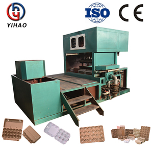 1500p/h reciprocating type sale paper pulp machine of tray for eggs