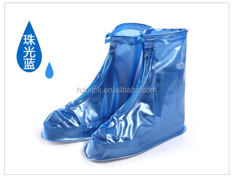 Wiederverwendbare rutschfeste wasserdichte Regenmantel-Schuhstiefel-Abdeckung