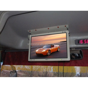 "19"" bus/car LCD media advertising display player/digital signage"