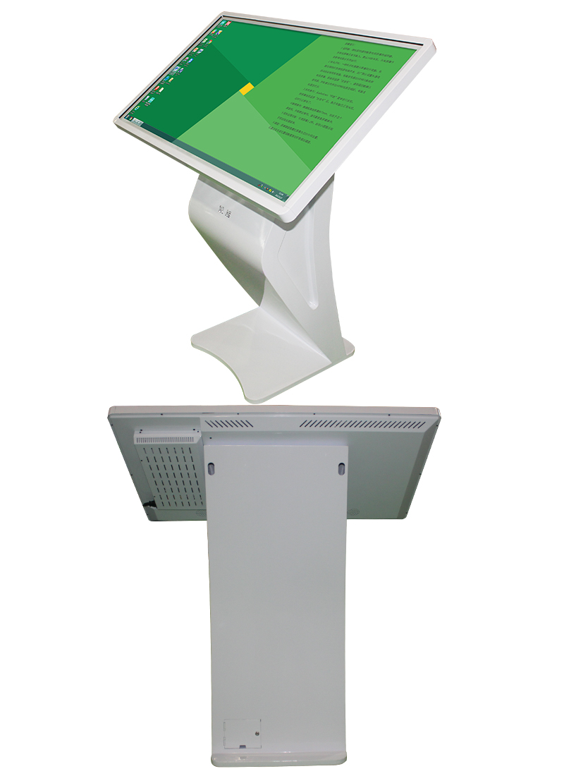 Vertical android 32 inch all in one pc touch screen digital signage display stands