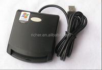 good factory price single external usb smargo smart card reader
