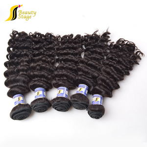 Full cuticle without jerry curl human hair for braiding,chemical processed 100% human hair tangle free in glass grafts