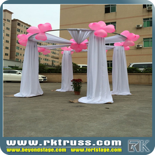 Cheap Pipe And DrapeOrganza Wedding Backdrop Curtainbackdrop