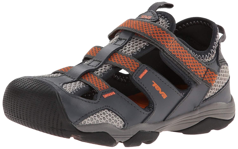 f751476f60ba Get Quotations · Teva Jansen Leather Kids Sport Shoe (Toddler Little Kid Big  Kid)