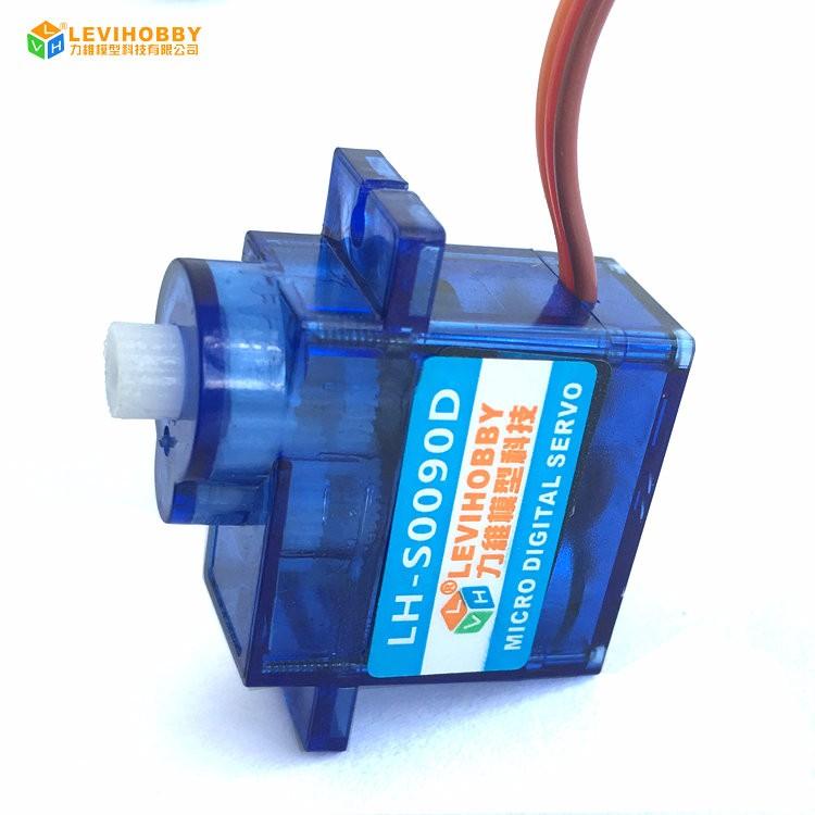 Lvh No Need Potentiometer Adjustment Digital 360 Degree Continuous Rotation  9g Servo Motor For Robot Car Wheel Uav - Buy 360 Degree Continuous