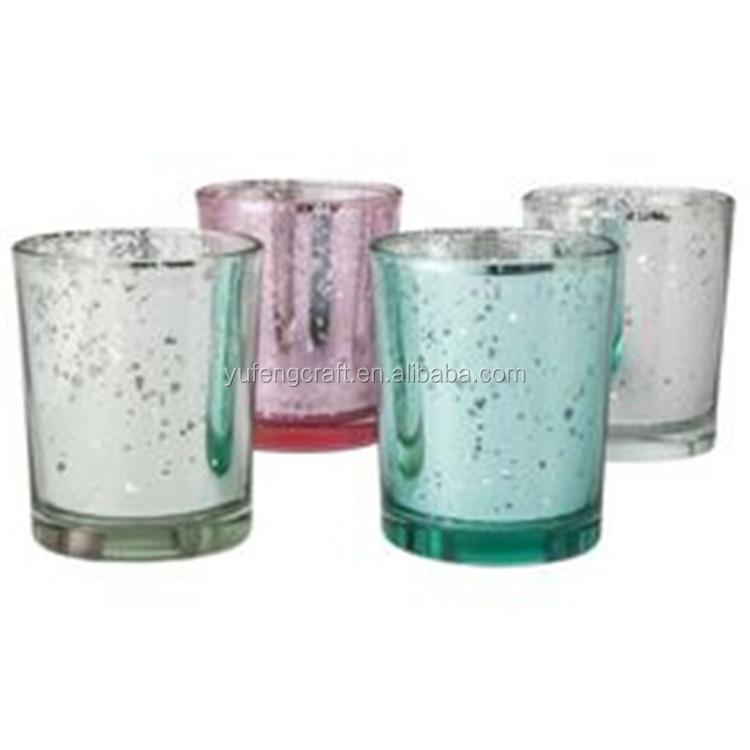 mercury glass votive holder tealight