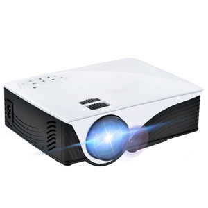 GYMAN 2000 Lumens LCD Multimedia Mini Projector Home Theater Video Projector with Free HDMI for Gaming and Watching