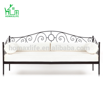 Simple Style Wrought Iron Sofa Bed