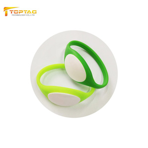 RFID NFC RF Identification Wristband for Tourism Safety