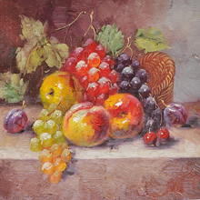 2016 best seller of fruit oil painting on canvas
