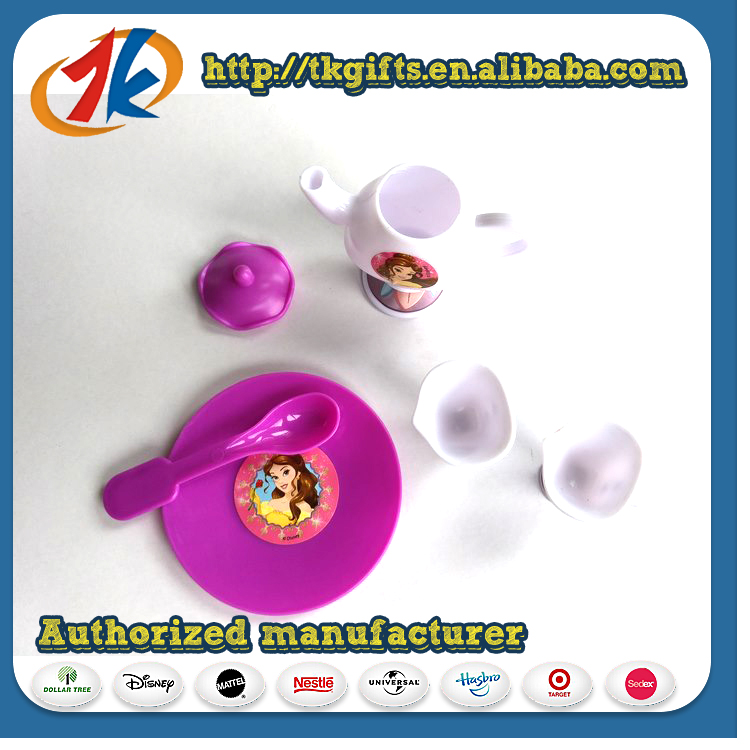 Newest Kids Pretend Plastic Small Tea Set Toy