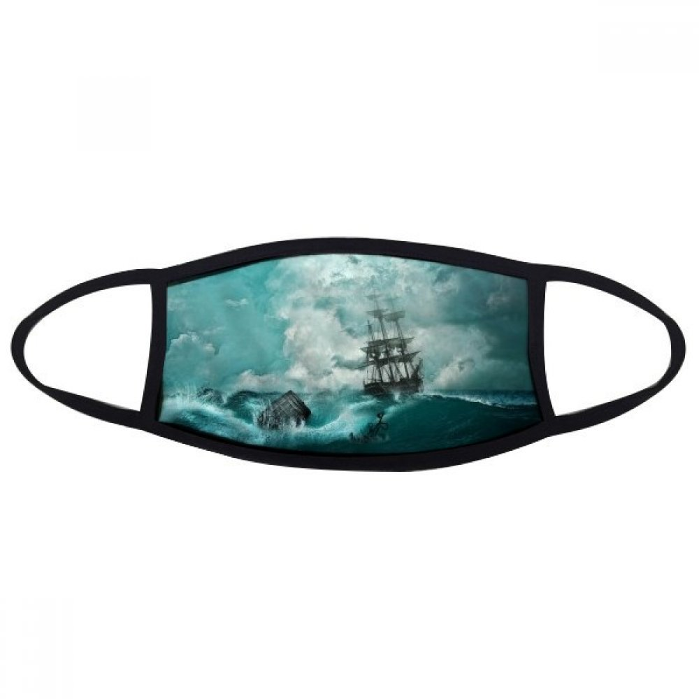 DIYthinker Ocean Water Wave Science Nature Picture Face Anti-dust Mask Anti Cold Maske Gift