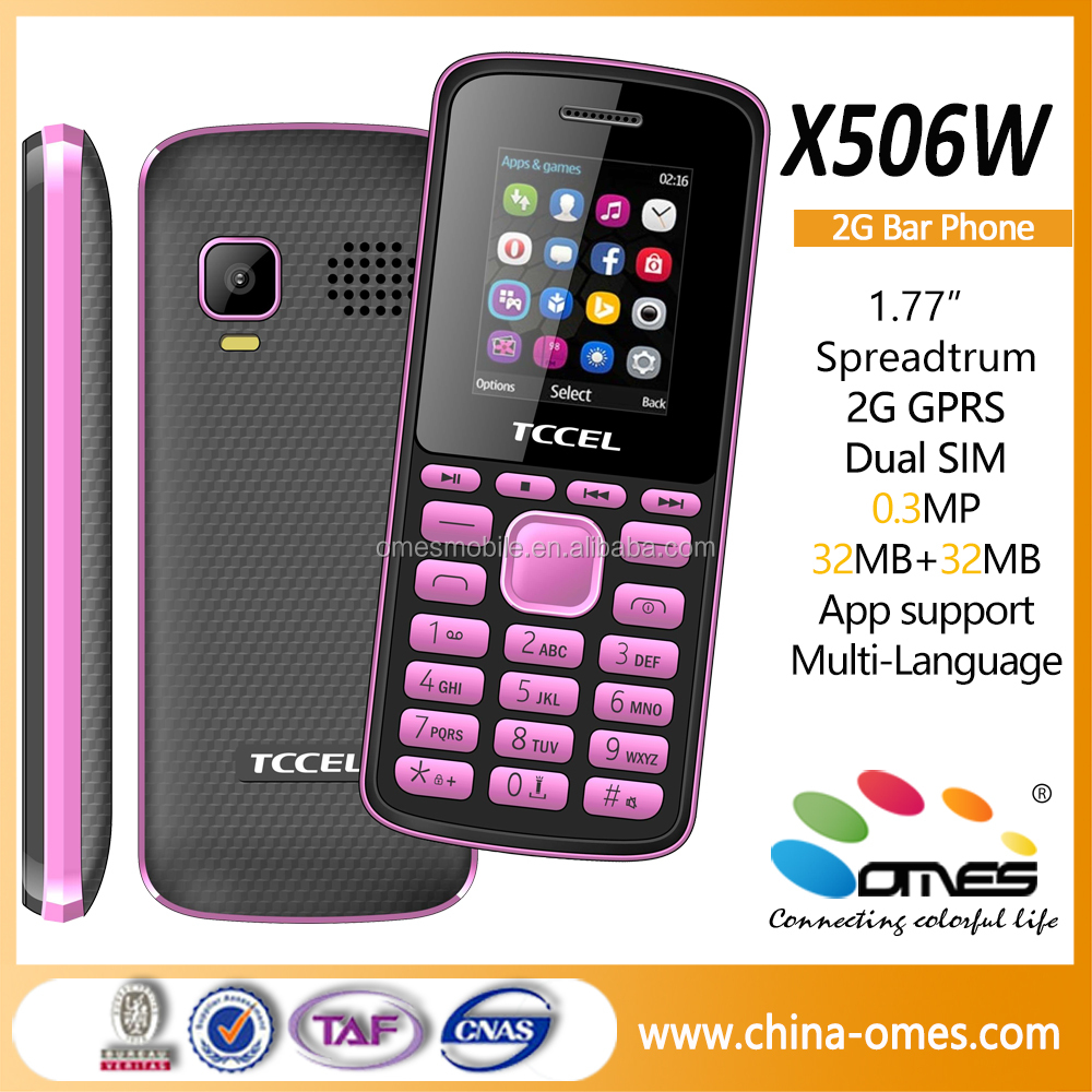 OEM x506 2G GSM quad bands cheap 1.8 inch all brands low price china mobile phone mobile