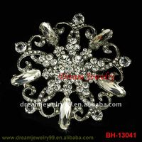 fashion handmade brooch big flower brooches pin floral shoes pin hijab pins jewelry
