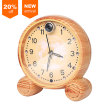 Hot Sale 960P Wooden Wall Clock Security Camera Support Cloud Storage ip wifi wireless camera for Home use T13