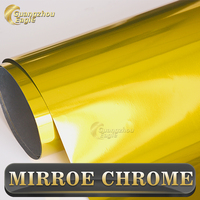 Guangzhou Eagle Stretchable Chrome Mirror Car Wrapping Film with Air Bubbles No Residual Glue Car Wrap Sticker Vehicle Vinyl
