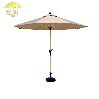 Wholesale Parts Garden Umbrella Chine Tulip Half Parasol Outdoor Sun