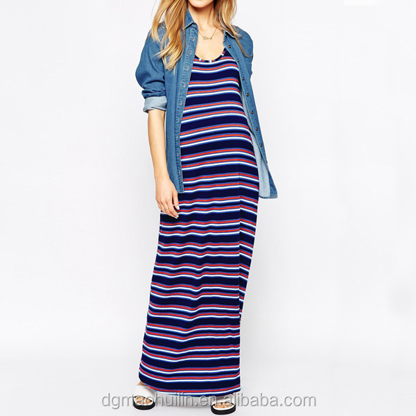 e5ba96f2d99 wholesale maternity clothes stripe maternity maxi dress for pregnant women  maternity wear for office