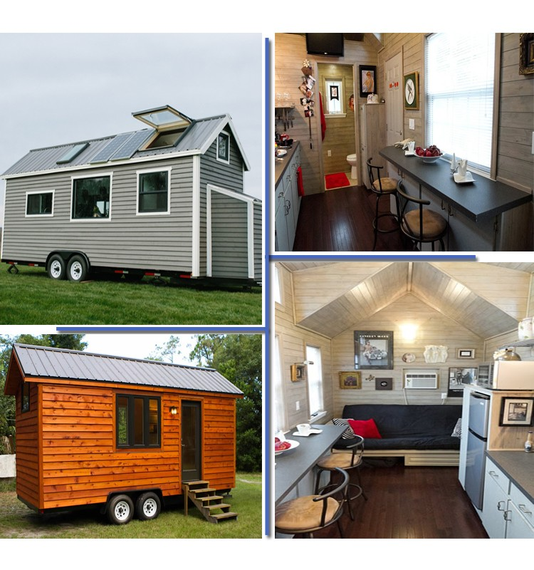Mobile Live Trailer Tiny Homes in New Zeadand
