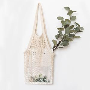Soft and comfortable cotton mesh grocery bag
