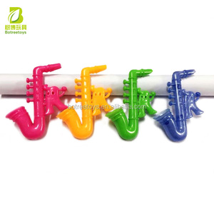 Saxophone whistle mini plastic toys in bulk