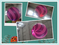 Hot selling new brand Inflatable ball for decoration with led light