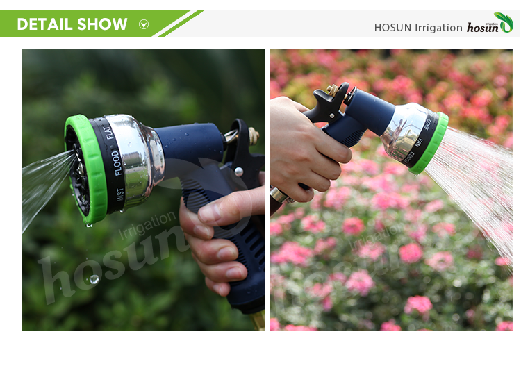 Lower price multi rubber car washer steam long distance waterjet sprayer fog jet garden hose mist water spray nozzles