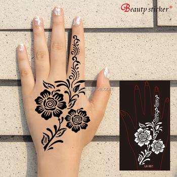 Flower Drawing Stencil Wings Tattoos Designs Dragon Mix Design ...
