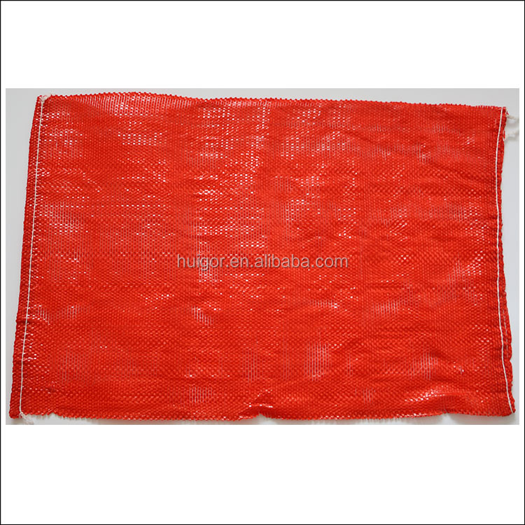 Shandong factory produce poly vegetable mesh bag for packaging fruits