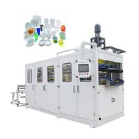 SINOPLAST Low Price Plastic Cup Thermoforming Making Machine, Machine For Making Disposable Plastic Cups Plate