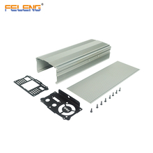 aluminum extrusion heat sink solar battery boxes pcb enclosure