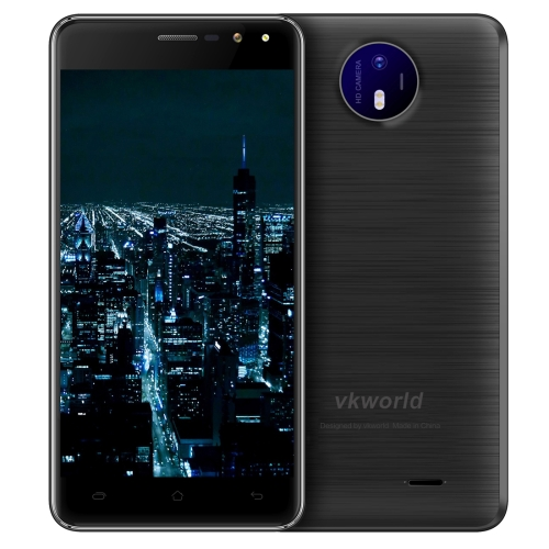Dropshipping original brand mobile phone VKworld F2 5.0 inch 2.5D Android 6.0 MTK6580A Quad Core up to 1.3GHz Network 3G Dual