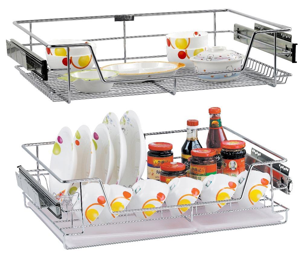 Factory Supply Kitchen Wire Basket , Wholesale Latest Design Kitchen  Storage Container, Pull Out Kitchen