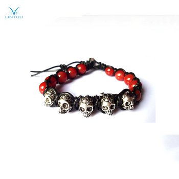 New Products For 2018 Stone Skull Bracelet Meaning Alibaba China