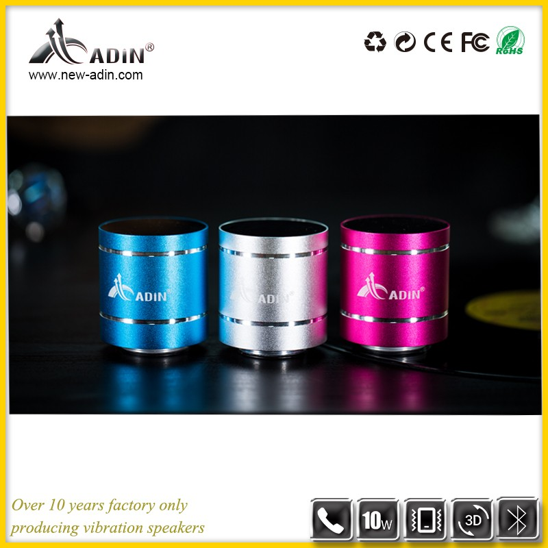 2018 new arrivals Portable Mini wireless vibration speaker best surface with Bulk wholesale
