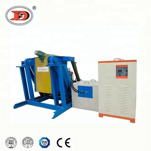 10kg 20kg 50kg 100kg 150kg 200kg Small Induction Melting Furnace For Copper/Aluminum/Steel/Iron