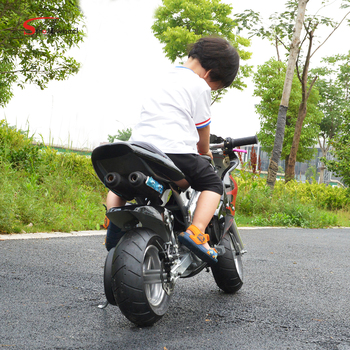 2018 Chinese Petrol Mini Moto Pocket Bike 49CC Motorcycle for Kids